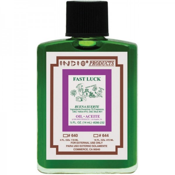 Indio Fast Luck Oil - 4oz