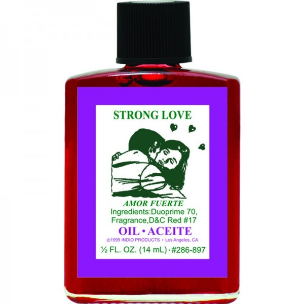 Indio Strong Love Oil - 0 5oz