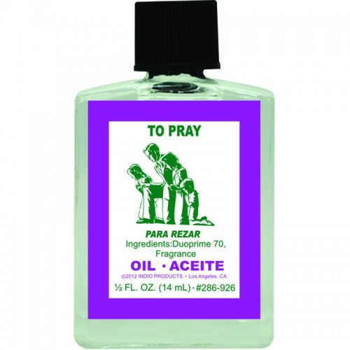 Indio To Pray Oil - 0 5oz